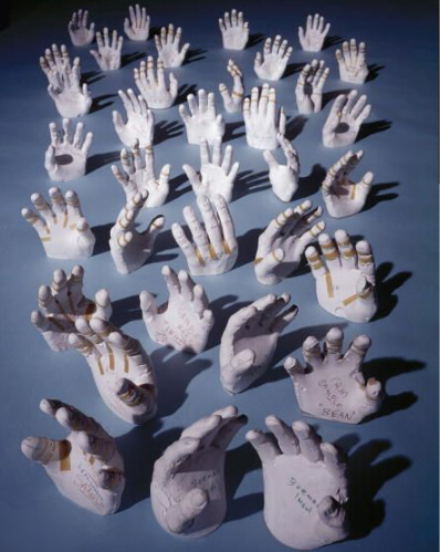 Apollo Crew Hand Molds