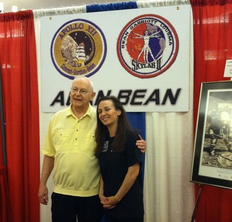 Apollo 12 astronaut Alan Bean