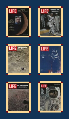 Apollo 11 Life Magazine Covers